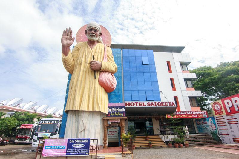 Hotel Sai Geeta Shirdi Next To New Sai Prasadalay Maharashtra India